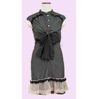 Dress WD2 lace up polyest